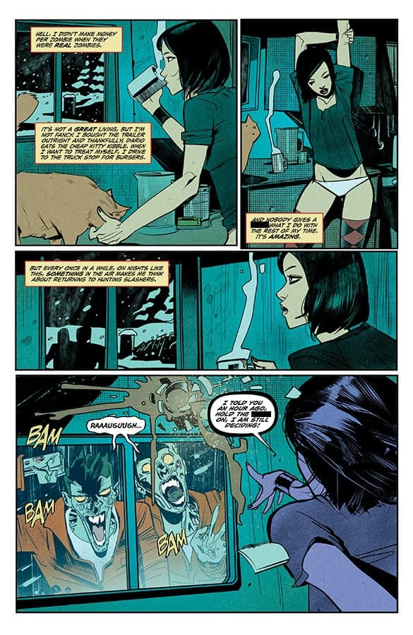 HACK/SLASH RESURRECTION #1