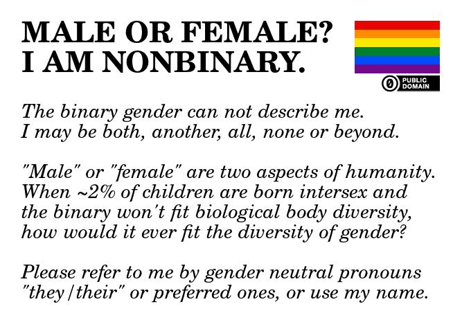 gender i am non-binary