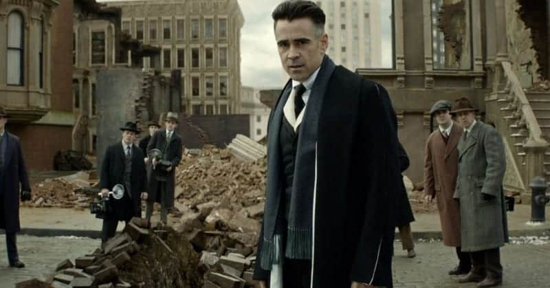 Colin Farrell in FANTASTIC BEASTS Ben Affleck