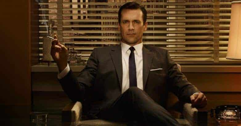 Jon Hamm in MAD MEN Ben Affleck