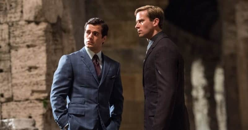 Henry Cavill and Armie Hammer in THE MAN FROM U.N.C.L.E. Ben Affleck