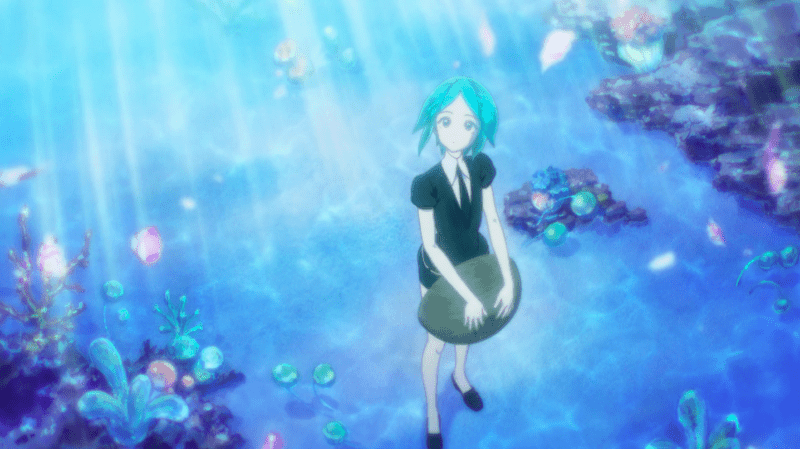LAND OF THE LUSTROUS ocean