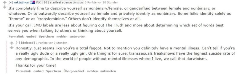 reddit genderqueer transphobia