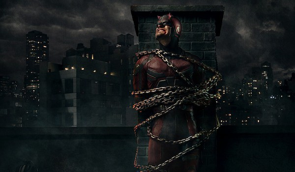 Daredevil chained up