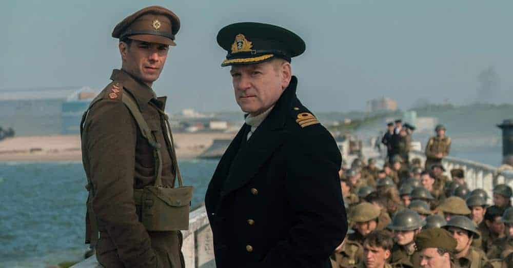 Kenneth Branagh in DUNKIRK Oscar Bait