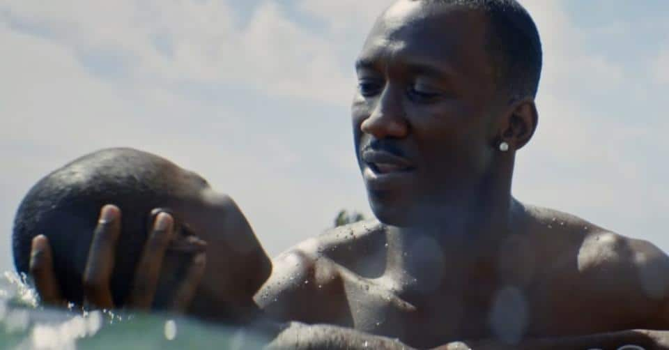 Mahershala Ali in MOONLIGHT Oscar bait