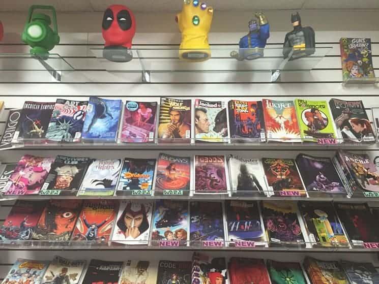 comic shops