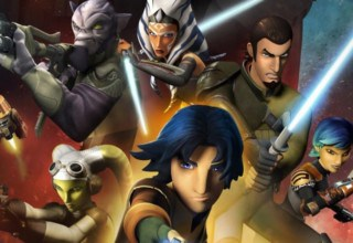 STAR WARS REBELS COVER