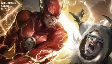 the Flash #38 exclusive preview