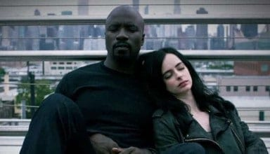 Luke Cage and Jessica Jones being Jessica Jones and Luke Cage