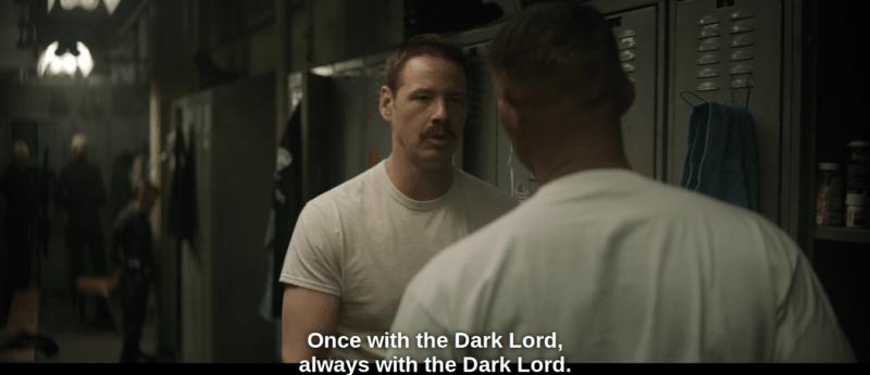 Netflix's Bright Police Locker Room Talk
