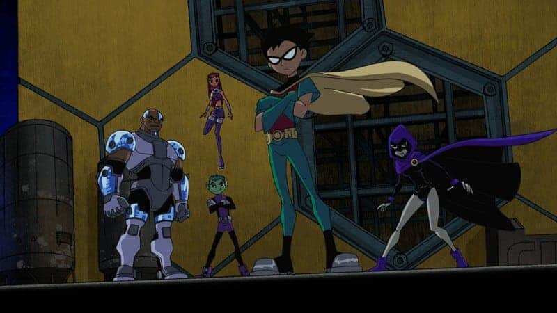 teen titans: the animated series