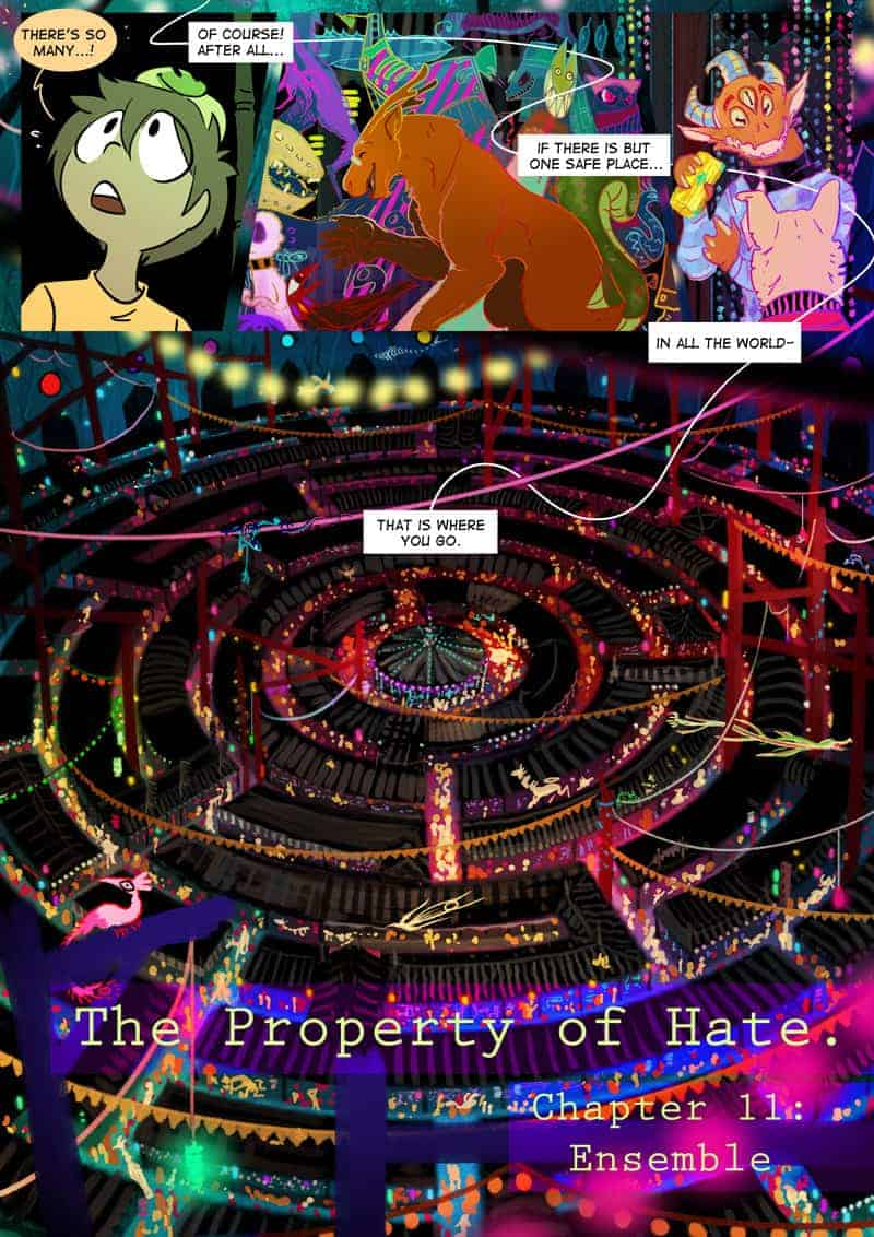 THE PROPERTY OF HATE