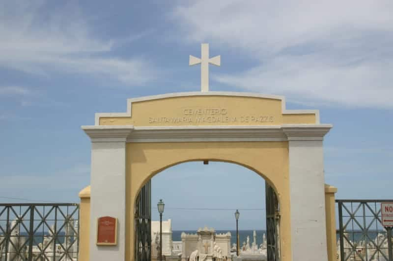 Puerto Rican entrance to El Murro