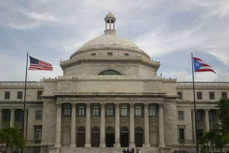 Puerto Rican Government Building in San Juan, Puerto Rico