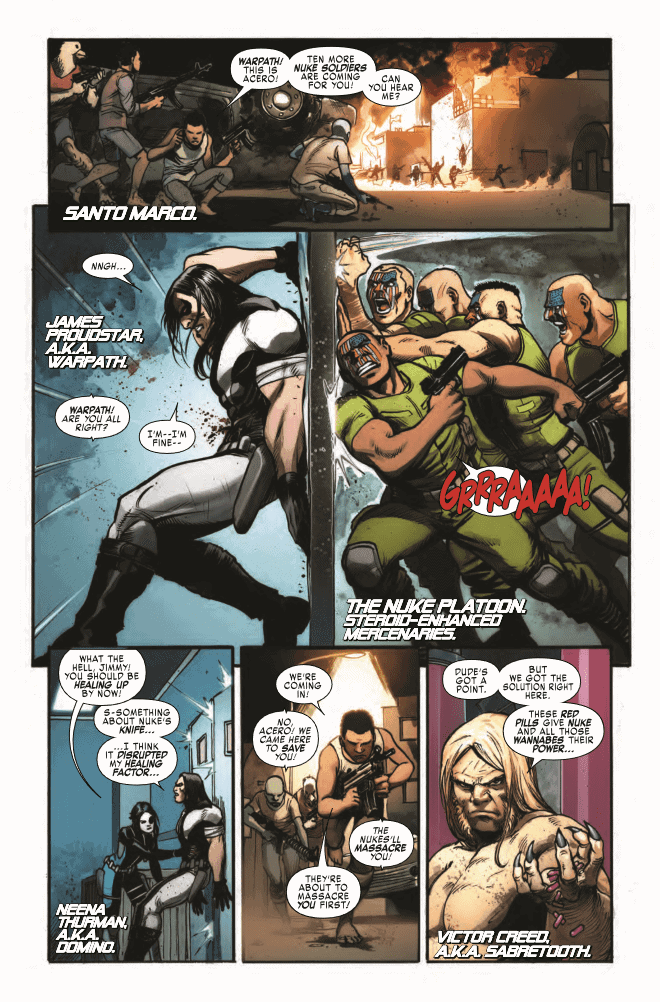 Weapon X #14