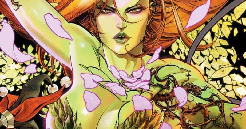 Poison Ivy's plunging neckline