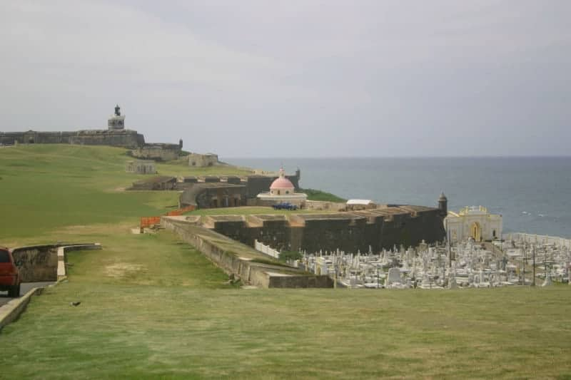 El Morro is something uniquely Puerto Rican on the island of Puerto Rico.