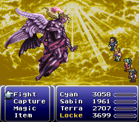 I'd say FFVI for the SNES is the best in the series