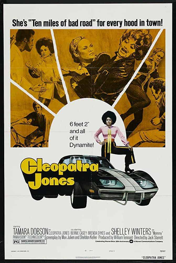 Cleopatra Jones Film Poster