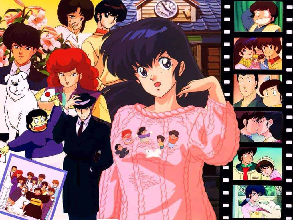 The cast of Maison Ikkoku
