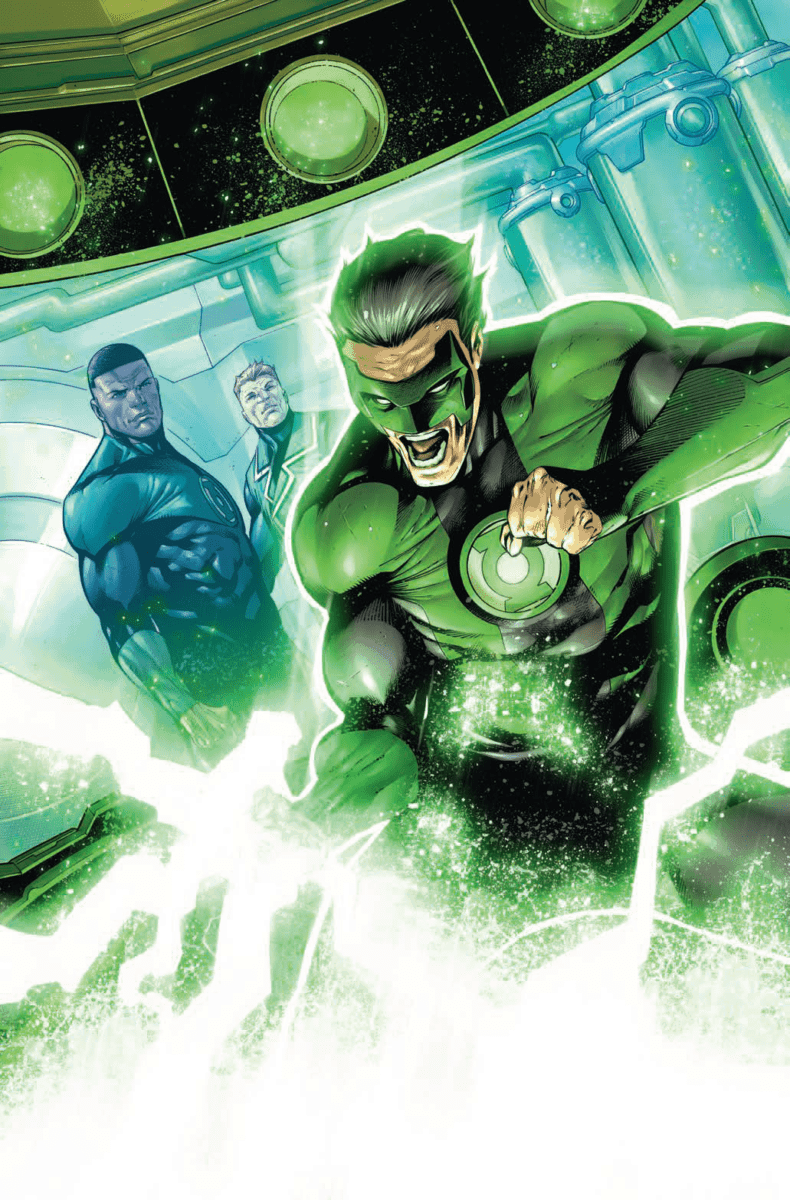 HAL JORDAN AND THE GREEN LANTERN CORPS #39