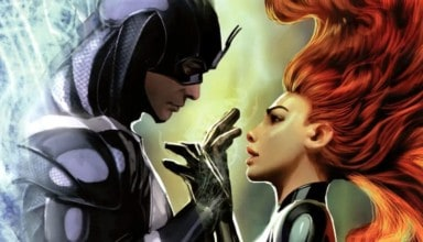 Medusa and Black Bolt