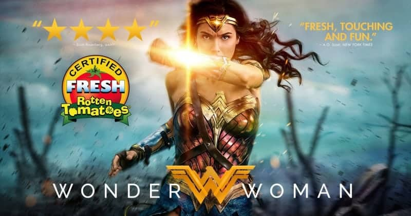 Wonder Woman Certified Fresh