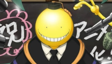 ASSASSINATION CLASSROOM series header via Crunchyroll.