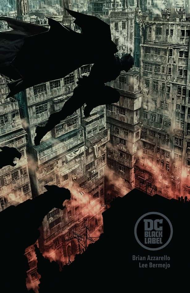 DC Black Label Batman cover