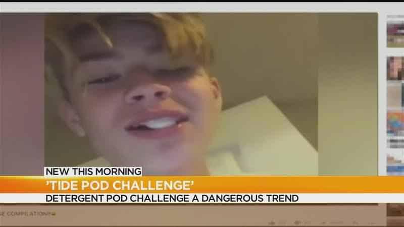 Image result for tide pod tv news