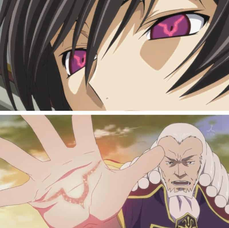 Lelouch's Geass, and Charles's code
