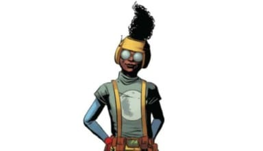 Moon Girl Courtesy of Marvel Comics.