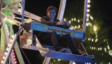 Simon on Ferris Wheel