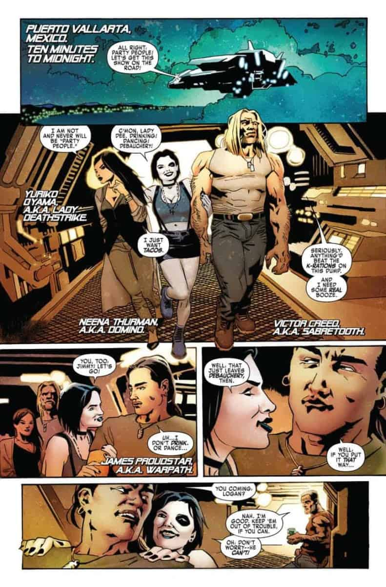 WEAPON X # 15