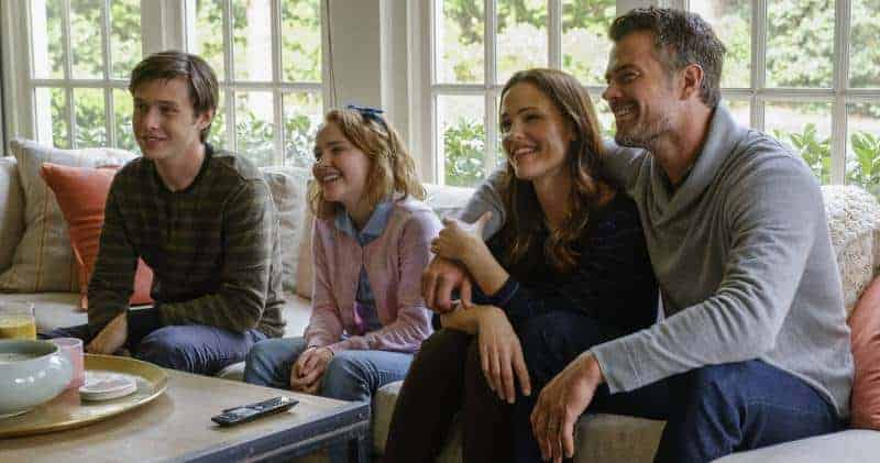 Love, Simon- The Spiers relax to watch an anniversary video