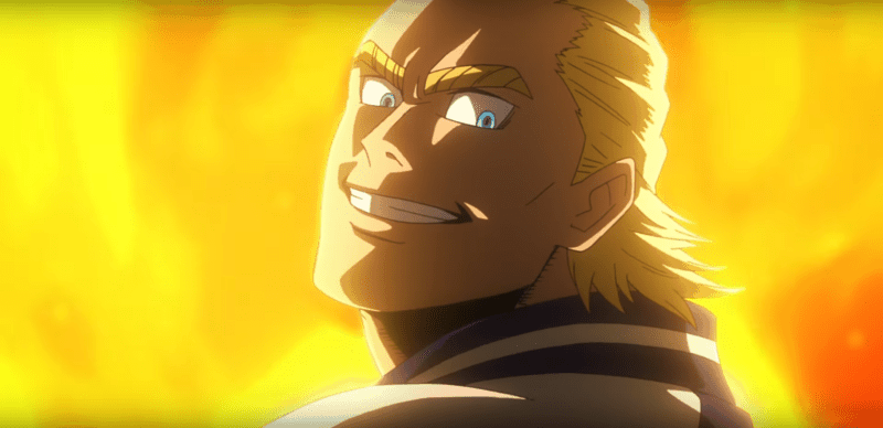 All Might has Eyes in New MY HERO ACADEMIA Movie Trailer