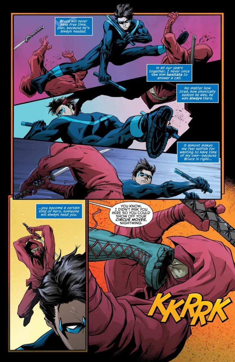 NIGHTWING #43 Page 4 - Image Courtesy of DC Entertainment
