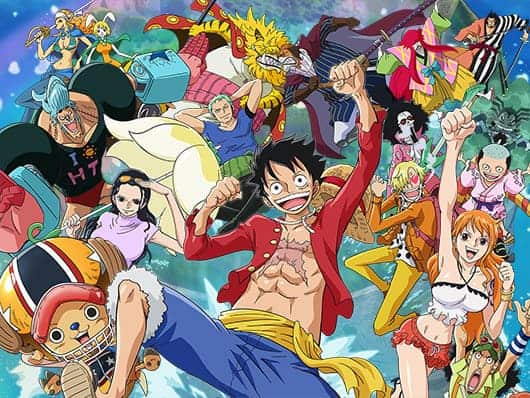 One Piece characters. Pirates vs piracy