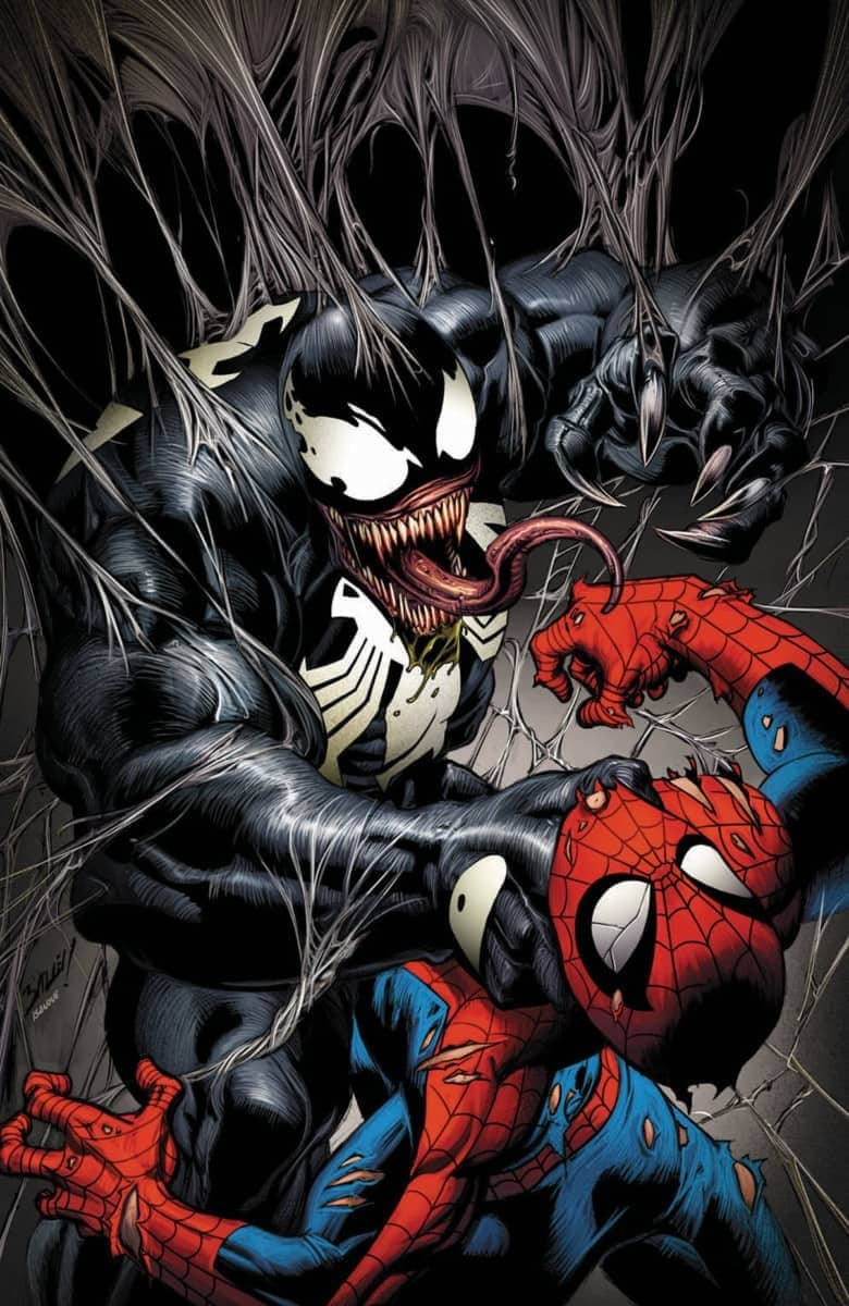 Venom #1 signed by Mark Bagley