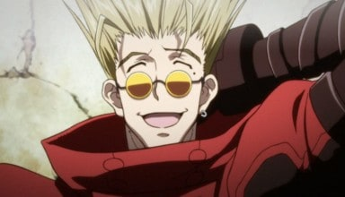 Vash The Stampede laughing