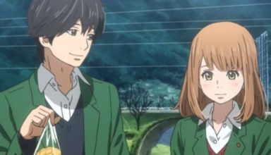 Naho and Kakeru from ORANGE.