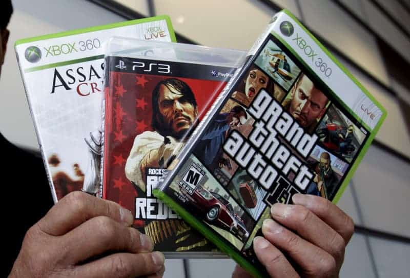 Violent video games and taxes