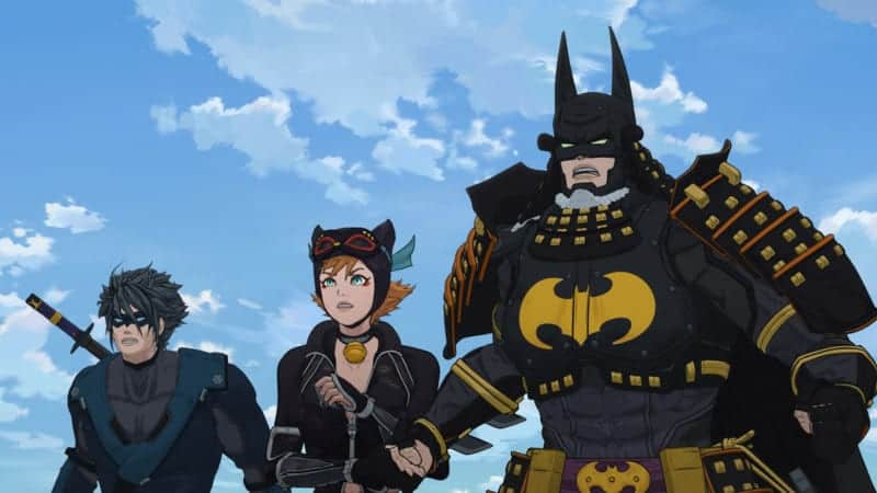 Batman Ninja - Batman, Catwoman, and Nightwing