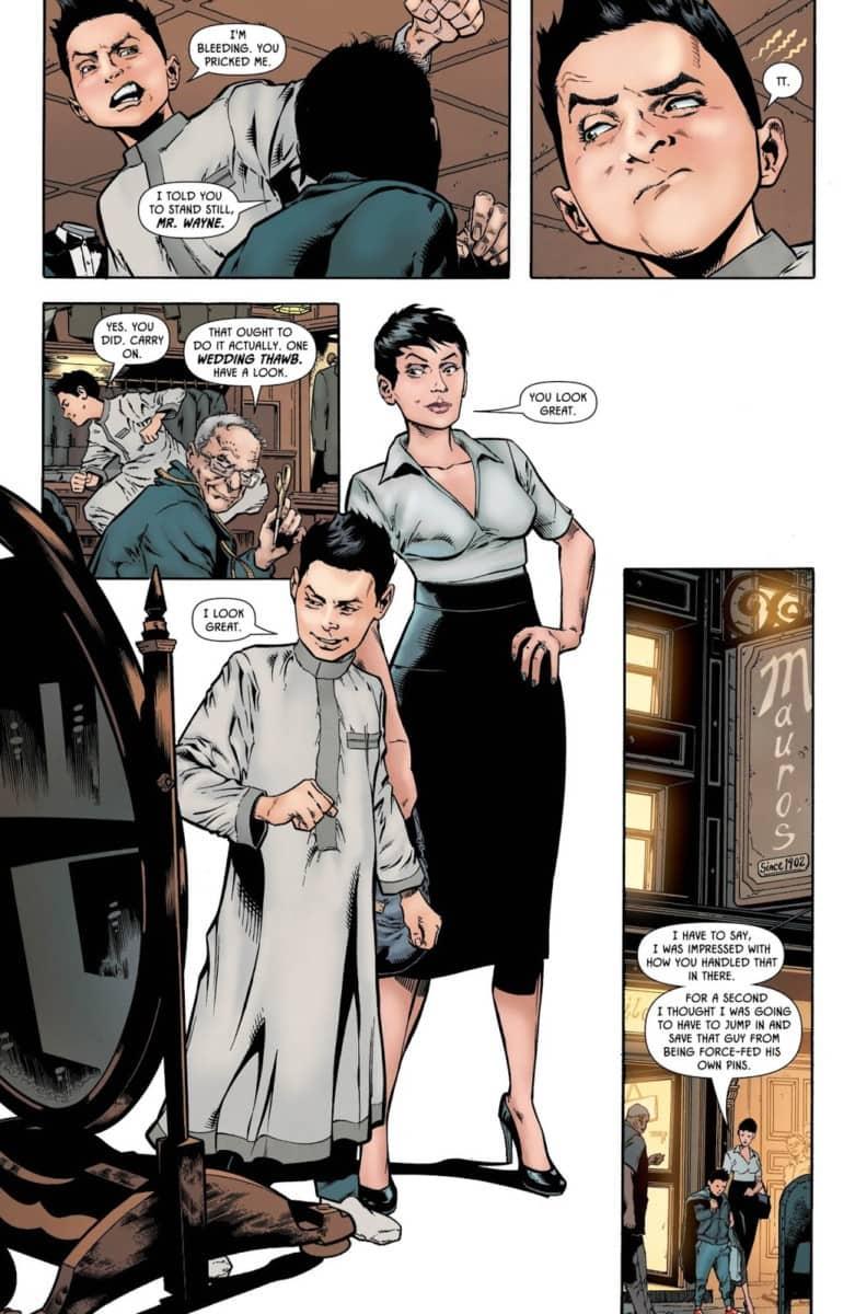 BATMAN: PRELUDE TO THE WEDDING - ROBIN VS. RA'S AL GHUL #1