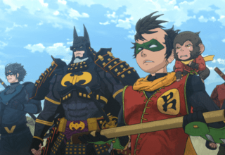 Batman Ninja - Nightwing, Batman, Robin, Monkichi, Red Robin