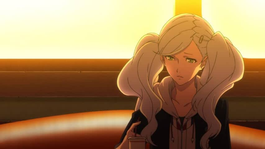 Ann discusses her experience with Kamoshida in PERSONA 5 THE ANIMATION