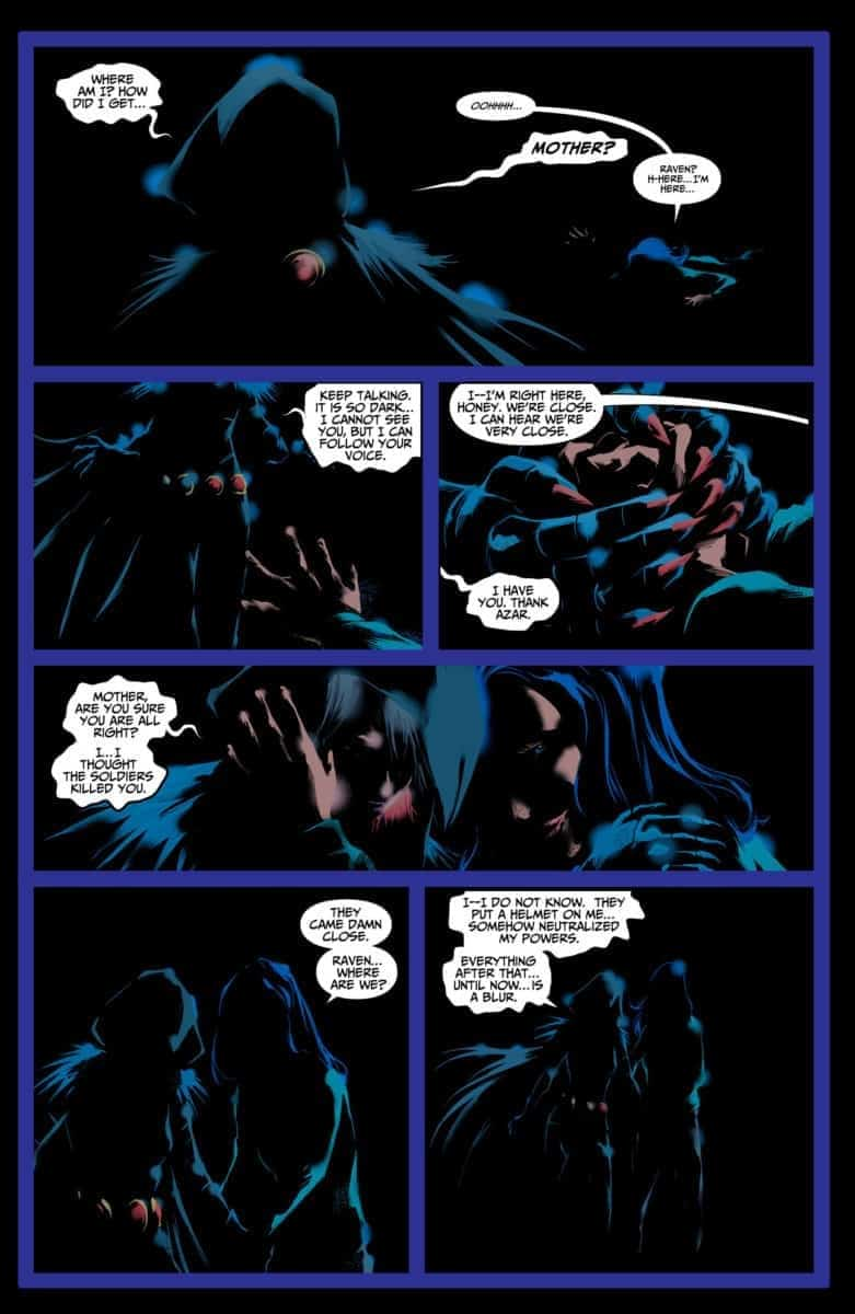 RAVEN: DAUGHTER OF DARKNESS #5