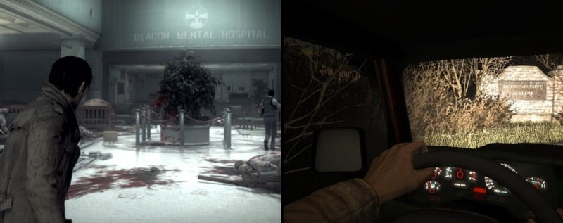 mental illness in video games - THE EVIL WITHIN/OUTLAST