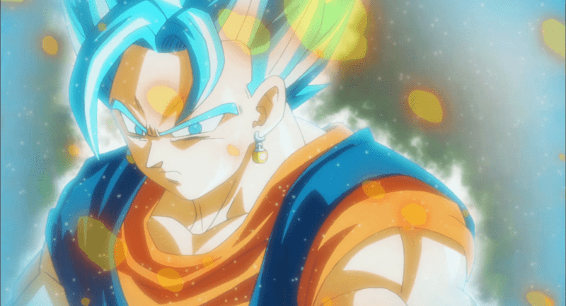 Vegito Blue wielded incredible power in SUPER, so he'll be a top tier character in DRAGON BALL FIGHTERZ